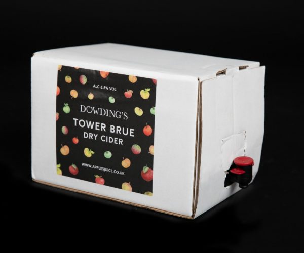 Dowdings Dry Cider bag in box
