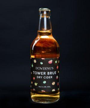 Dowdings Tower Brue Dry Cider Bottle